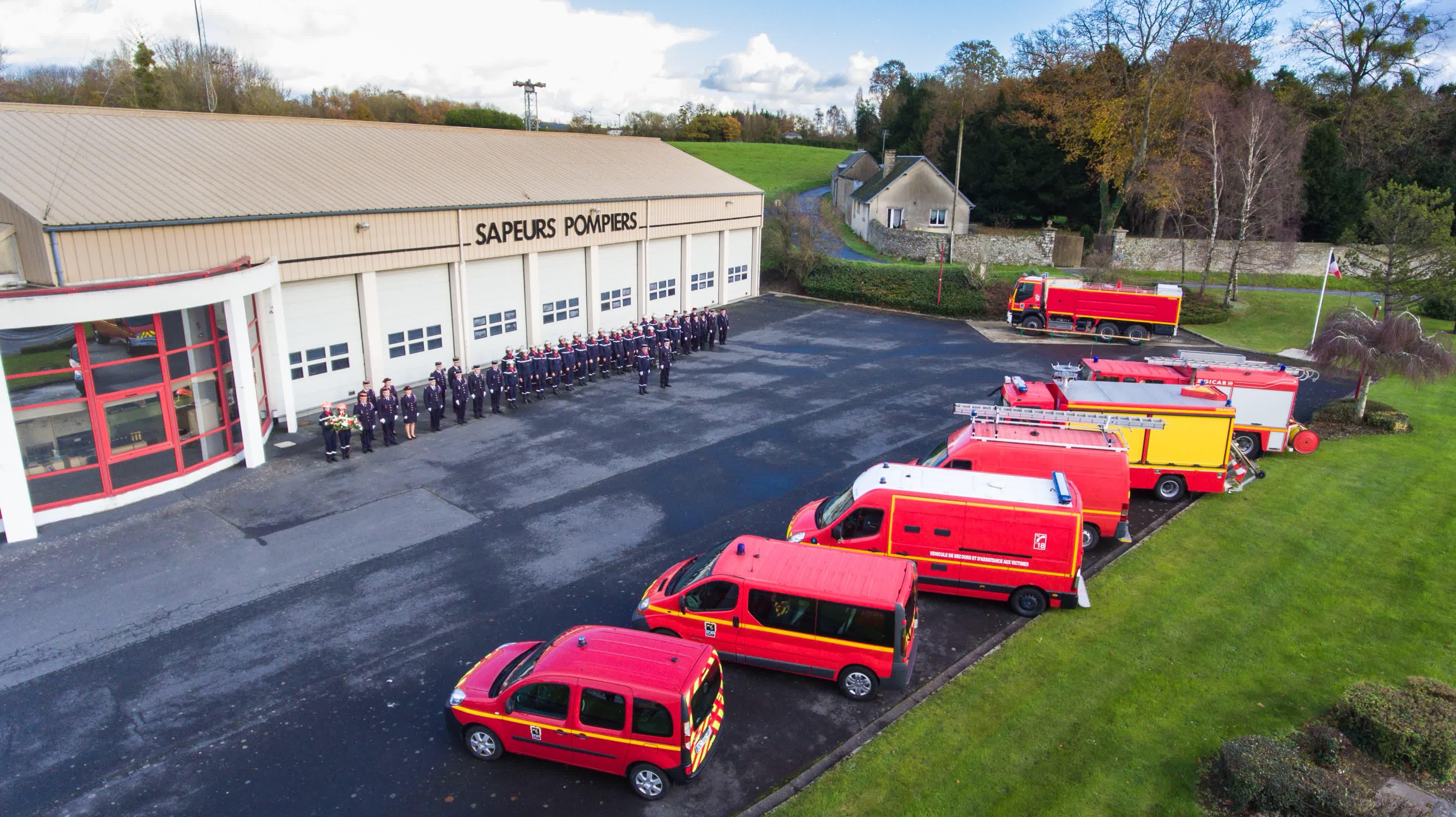 Calendrier des pompiers